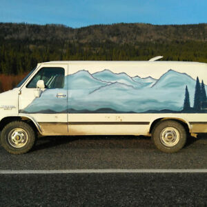 Camperized 1993 Chevy Dream Van For Sale