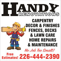 Handy Renovations Company