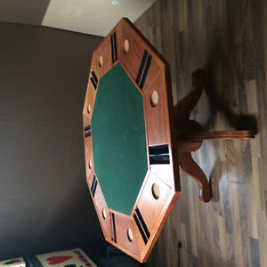Poker/Gaming table Solid Wood