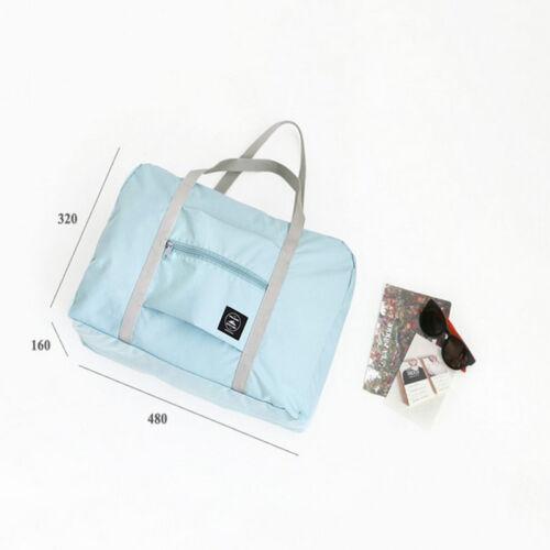 Foldable Duffel Bag Luggage Waterproof Pouch Bag Case