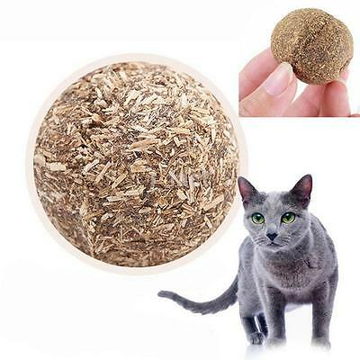 3.2cm Pet Toys Natural Catnip Healthy Funny Play Treats Toy Ball for Cats Kitten