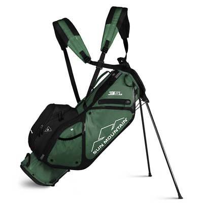 New 2019 Sun Mountain 3.5 LS Golf Stand Bag (Green)