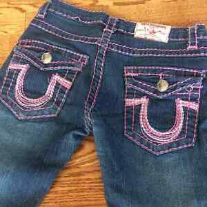 True religion jeans size 27 in three styles
