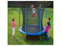 Childrens 8ft/10FT Trampoline & Enclosure