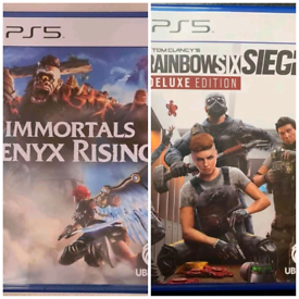IMMORTALS FENYX RISING & RAINBOW SIX SIEGE PS5 GAMES