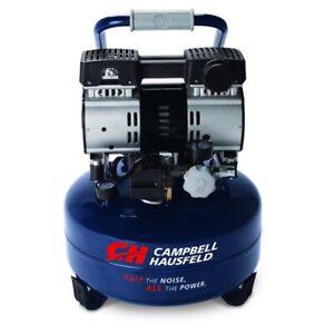 Compresseur 6 gal, 1 HP, Campbell Hausfeld (Quiet series) NEUF