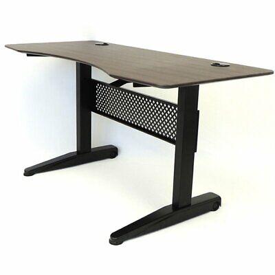 Boss Office Carnegie 59 Adjustable Height Standing Desk In Mocha