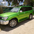 98 lexus lx 470 duel fuel with a new motor
