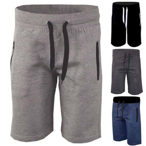 Herren Sommer Shorts Kurze Hosen Sweathose Trainings Hose Sporthose Jogging Gym