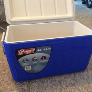 45.4 liter Coleman Cooler North Shore Greater Vancouver Area image 2