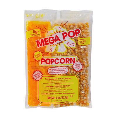 Gold Medal Mega-pop Popcorn Kettle Kit 12 Oz. 24case