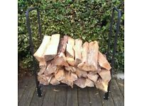 Small Log Rack & Free Cover!!