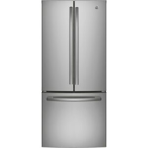 FRIDGE GE 21CU FRENCH DOOR SLATE OR STAINLESS STEEL