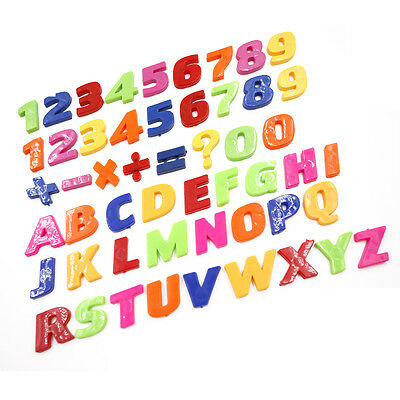 Bunte Zahlen / Alphabete PVC Kühlschrankmagnete Kinder Kinder lernen DBSD (Kühlschrank-magnete Lernen)
