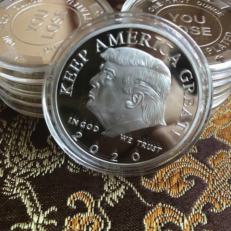 2020 President Donald Trump EAGLE Commemorative Coin
