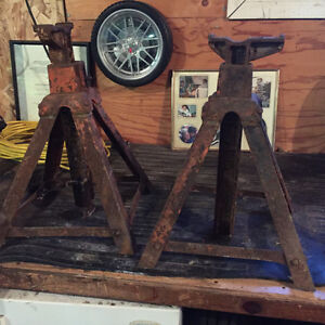 jack stands- heavy duty