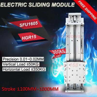 Sfu1605 Ballscrew Linear Actuator Sliding Table Module Hgr15 Rail Xyz Precision