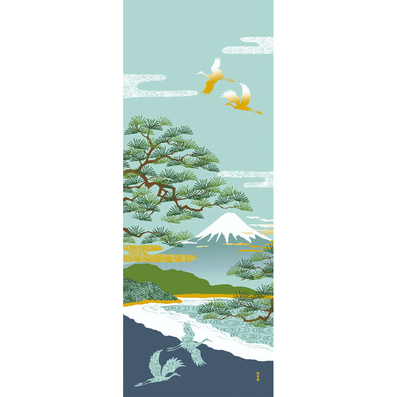 Hamamonyo Osaka Castle Tour Nassen Tenugui Serviette tapisseries