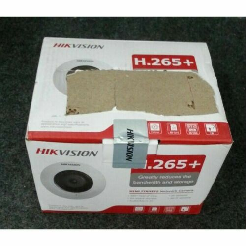 HIKVision DS-2CD2955FWD-IS Mini Fisheye Network Camera 1.05mm 5MP White