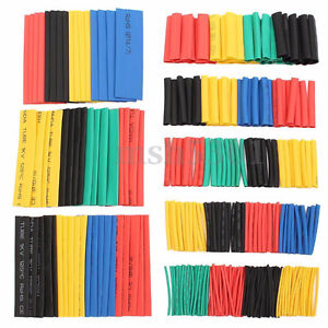 328 piece electrical wire heat shrink tubing