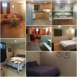 Beautiful furnished suite