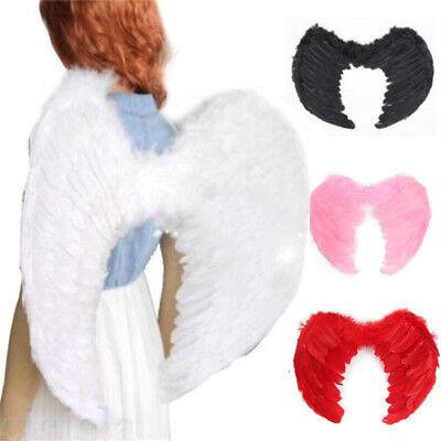 Gothic Fariy Fallen Feather Angel Wings Halloween Cosplay Fancy Props Costume (Fariy Costume)
