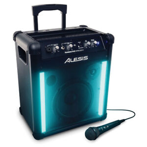 Alesis Transactive Wireless 2 Portable PA w lights and Bluetooth
