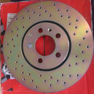 Brembo Drilled Rotor 35433 VW