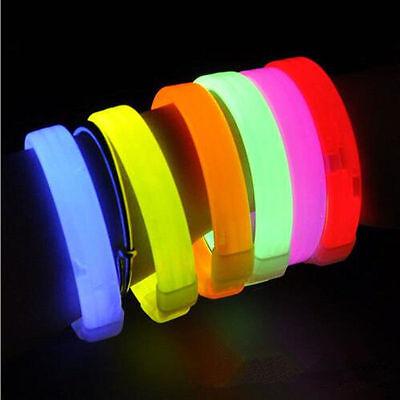 Club Glow Sticks (Glow Sticks Triple Wide Glow Bracelets Blinking Party Club Concert Wedding)