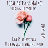 Local Artisans Market is looking for a few more vendors