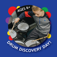 Come Discover Drum Lessons at CSM Drum Discovery Day! April 27!