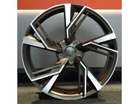 """22"""" RS6-20 Style alloys suitable for Audi Q5 etc"""