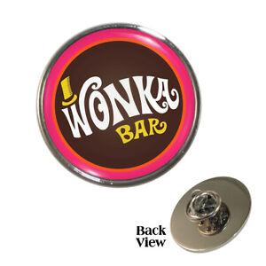 Retro-Movie-Chocolate-Bar-Pin-Badge-chocoholic-Brand-New