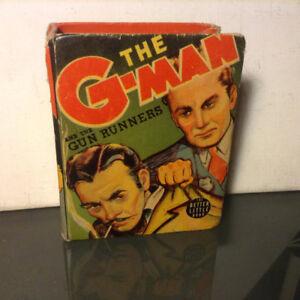 G-Man and the Gun Runners Big Little Book