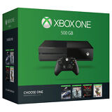 Xbox One 500GB with controller and Free game download!