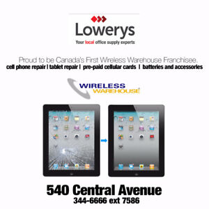 Wireless Warehouse Now Open in Lowerys, 540 Central Ave TBay