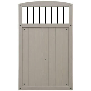 Yardistry Gate With Black Baluster REDUCED PRICE!