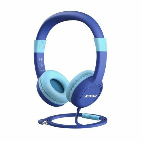 Mpow Kids safe Over-ear Headphones Headset 85db w/Mic for Ba
