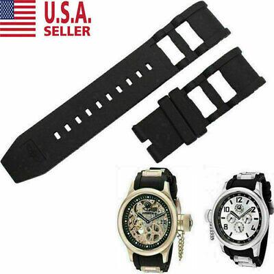 RUBBER WATCH BAND STRAP FOR INVICTA RUSSIAN DIVER 1805 1201 1845 1959 26MM#4 USA Invicta Rubber Bracelets