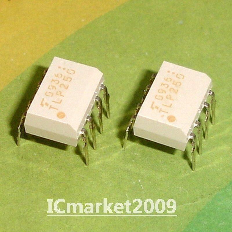 50 PCS TLP250 DIP-8 P250 Photocoupler TRANSISTOR INVERTER