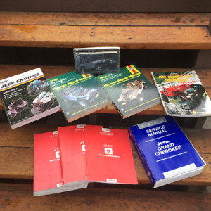 Jeep Manual collection