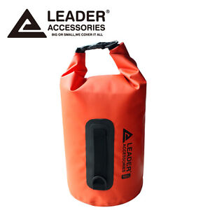 New 15L Orange Waterproof Vinyl Pouch Dry Bag for Kayaking Canoeing Rafting