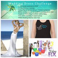21 Day Wedding Dress Fitness Challenge - Calling Spring Brides