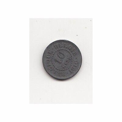 Belgien 10 Cent Deutsche Besatzung 1916/WWI Nr. 2/25/14