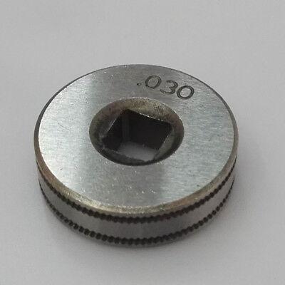 Mig Welder Wire Feed Drive Roller Weld 0.9mm .035 Kunrled-groove .030 Tool Hot