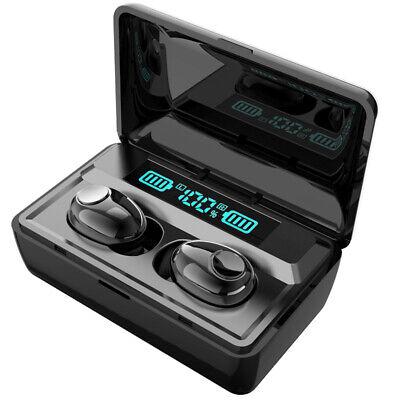 Bluetooth 5.0 Headset TWS Wireless Earphones Earbuds Stereo Headphones Mic USA