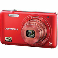 Olympus VG-160 Red 14MP Digital Camera