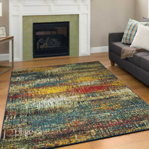 Colourful Contemporary Design Area Rug