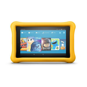 """Amazon Fire 7 Kids Tablet, 7"""" 16 GB Yellow *New in Box*"""