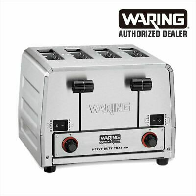Waring Wct850 Commercial Bread Bagel Combination Toaster 208 Volts Wct850b